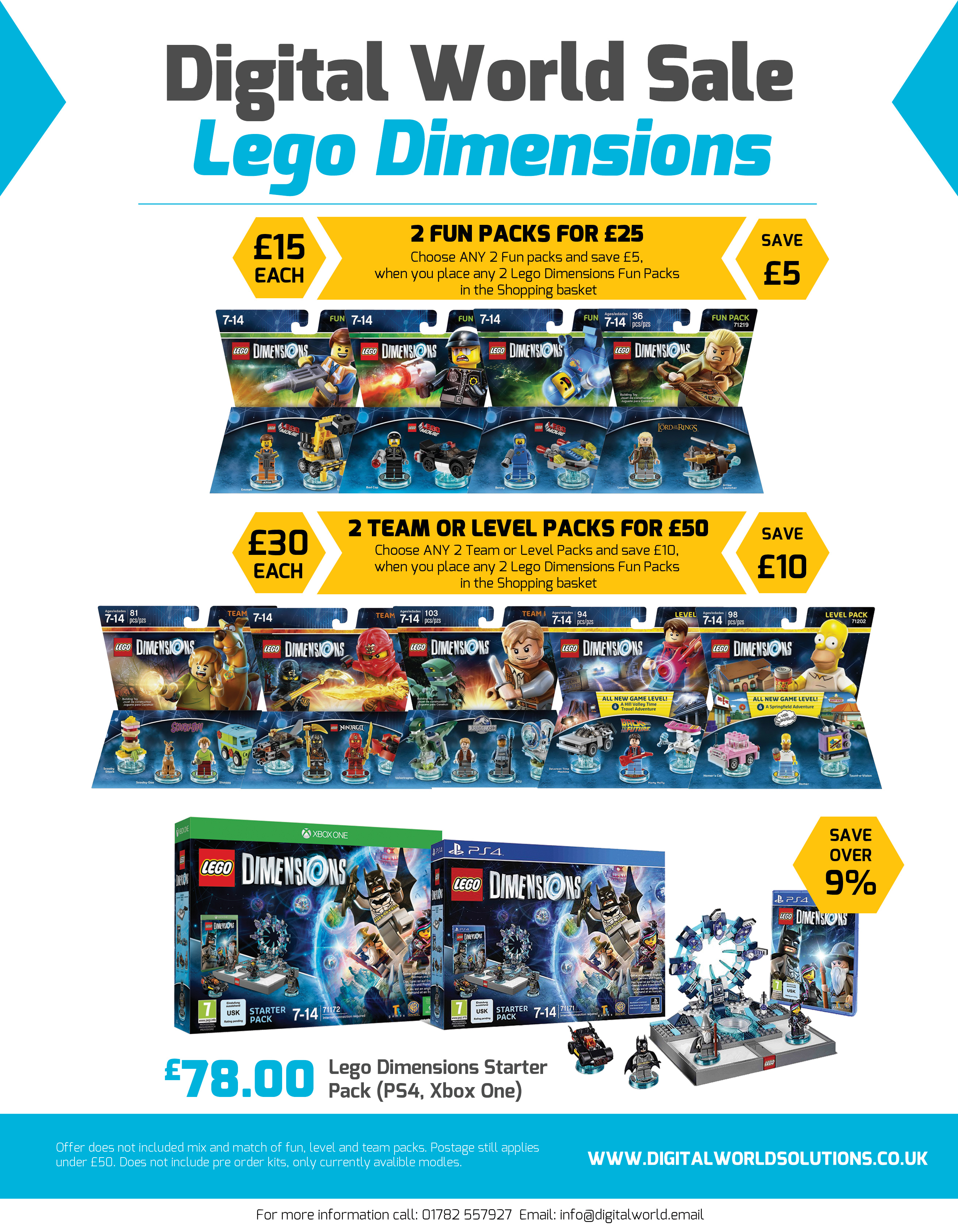 Lego Dimensions Sale Flyer